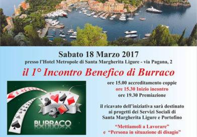 18 Marzo 2017 Incontro di Burraco a Santa Margherita Ligure
