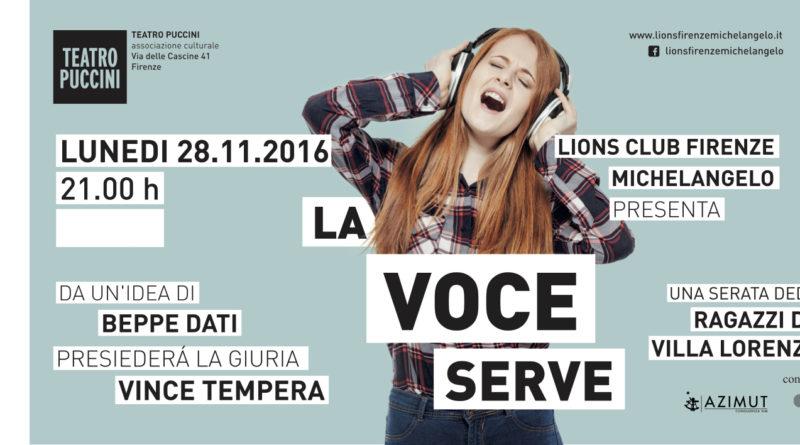 """""""La Voce Serve"""" per i ragazzi di Villa Lorenzi"""