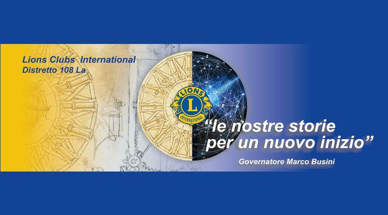 Videomessaggio del Governatore del Distretto 108La Marco Busini